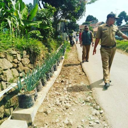 Pengukuran Jalan di beberapa Jalan Desa