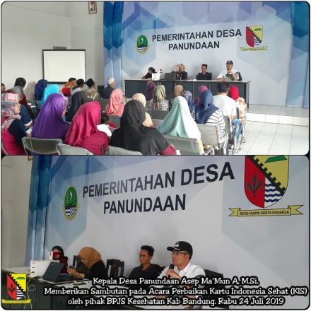Perbaikan Kartu Kesehatan Indonesia (KIS)
