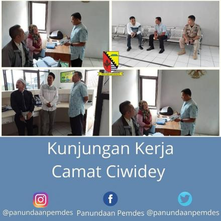 Kunjungan Kerja Camat Ciwidey