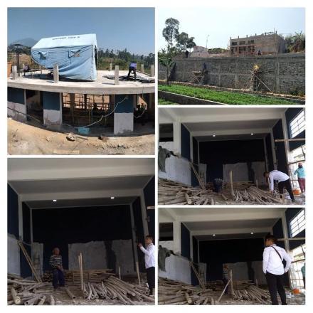 Pembangunan SOR dan Panundaan Center .
