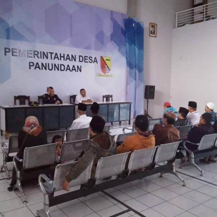 Ijtima untuk menentukan keputusan dalam pelaksanaan Sholat Sunat Berjama'ah Istisqo